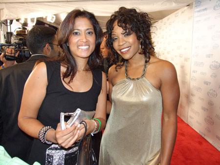 Divine Brown & Lorraine Zander