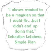 sebastien lefebvre simple plan