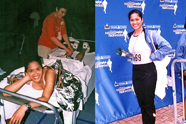 Lorraine Zander Ottawa Marathon Nike