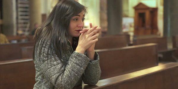religious girl praying skank