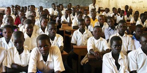 Gulu Uganda Students in Classroom