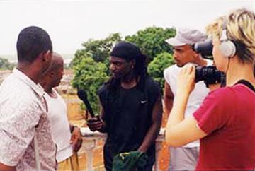 The Rascalz Sierra Leone raising awareness about blood diamonds