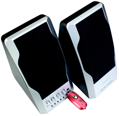 Centrios USB MP3 Speakers