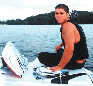 Aaron Rathy Wakeboarder