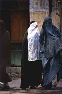 Afgan women - burqas