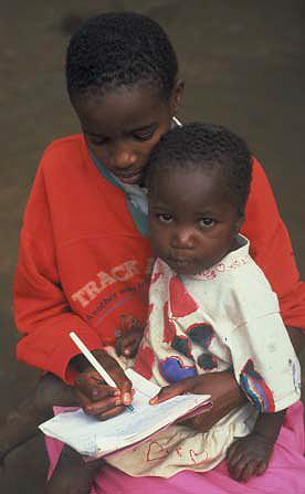 AIDS in Africa children, orphans