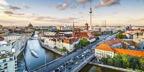 Berlin City Scene