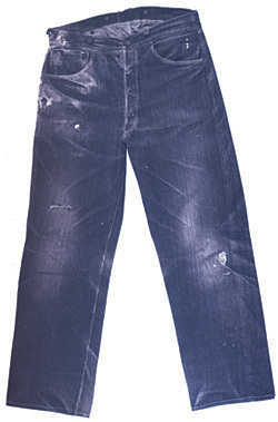 History of Denim 1890 jeans