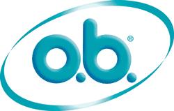 o.b. tampon logo