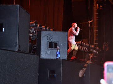 Governors Ball NYC   Kanye West on stage at the Governors Ball