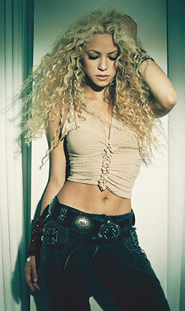 Shakira is hot! in Faze Magazine