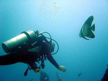 scuba-underwater