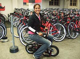 amsterdam bike Lorraine Zander