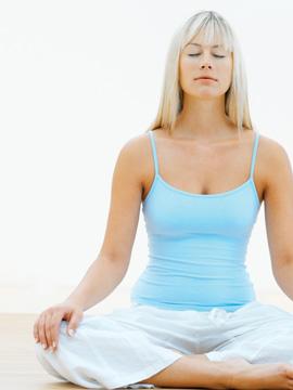 Yoga Woman - Hot Bikram Yoga Pose