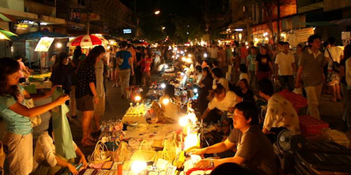 The Night Market in Chiang Mai