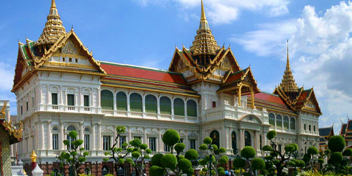The Grand Palace in Bangkok