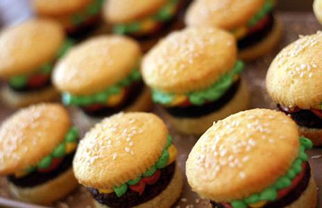 burger-cupcake