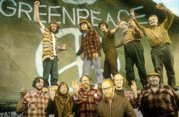 Bob Hunter & Greenpeace in 1971