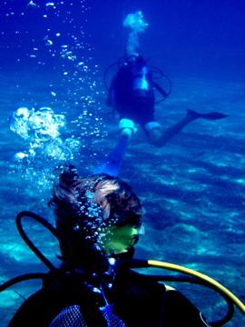 scuba diver Golf Ball Diver