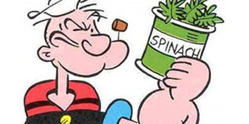 power-foods spinach popeye