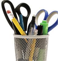 study tools scissors pens