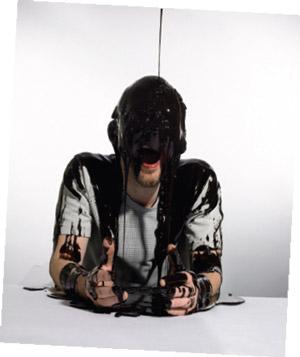 Thom Yorke of Radiohead in Chocolate