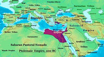 Ptolemaic-Empire_200bc