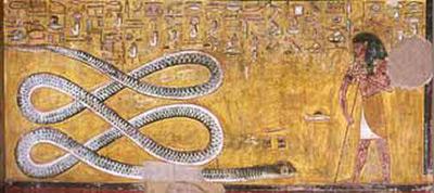 egyptian-asp-snake-painting