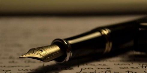 Author's Writing Pen
