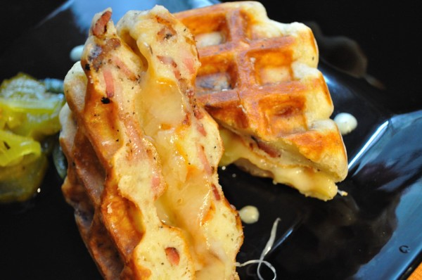 Bacon Waffle Grilled Cheese
