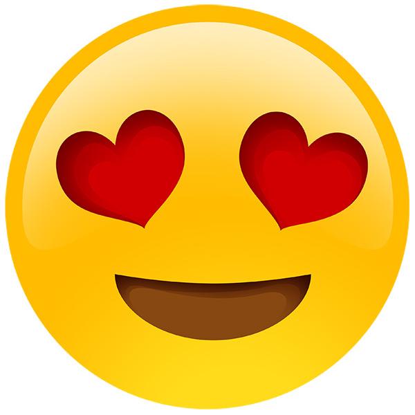 Heart-Eyes emoji
