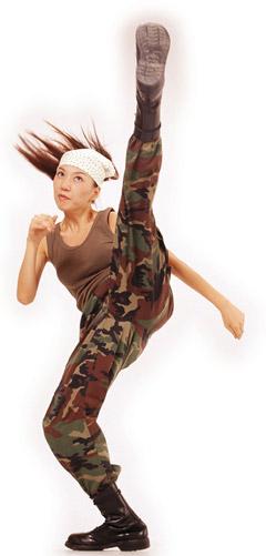 Karate Girl Stuntwoman