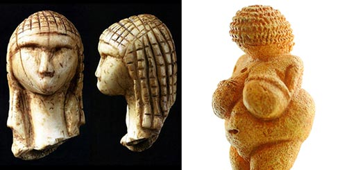 Venus of Willendorf, Venus of Brassempouy