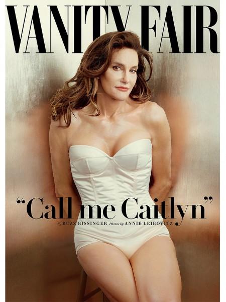 Bruce Jenner reveals Caitlin Jenner in Vanity Fair Magazine