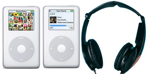 tech gear - apple iPod noisebuster headphones