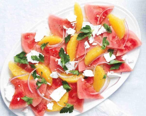 Watermelon Citrus Salad