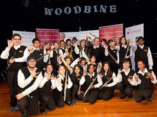 MusiCounts, Woodbine Junior High School
