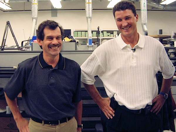 Mario Bros: Mario Lafortune and Mario Lemieux