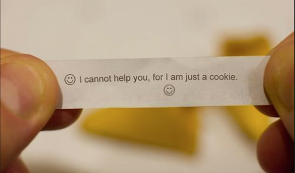 Weird Fortune Cookie
