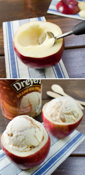 Apple Ice-cream
