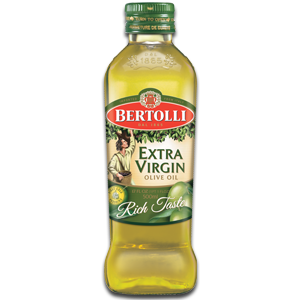 Extra virgin olive oil.