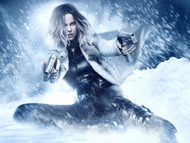 Kate Beckinsale underworld snow