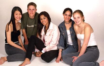 2001 Faze Team for cloning cover shoot