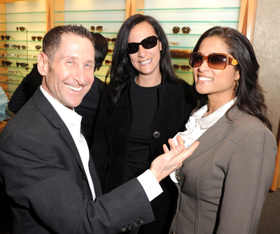 Robert Marc eyewear with Lorraine Zander and Carolee Custus