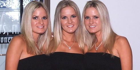Cloning girl triplets