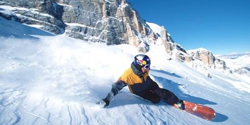 Snowboarding Speed