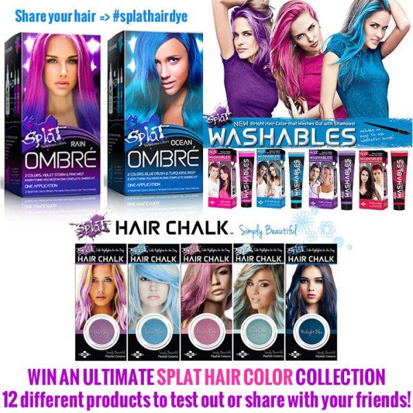 Splat Hair Color Contest