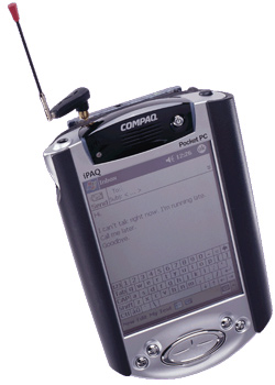 Compaq ipaq Phone