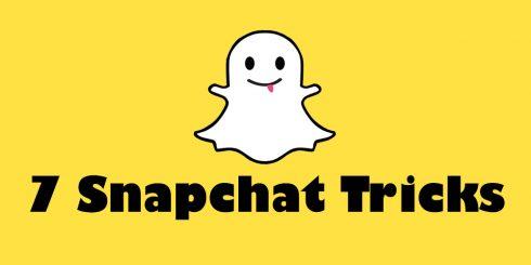 7 Snapchat Tricks