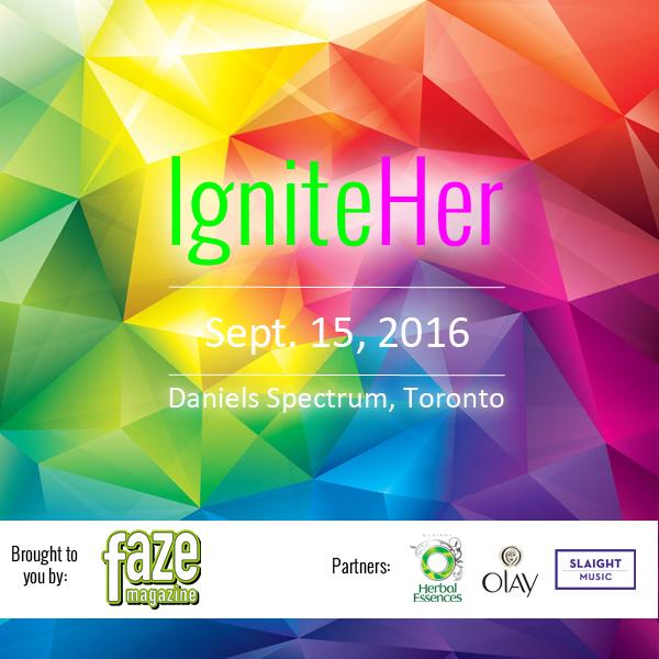 IgniteHer Poster